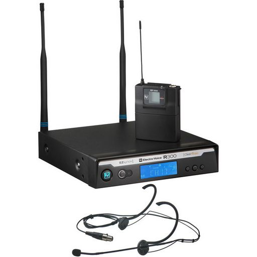 R300 Uhf Wireless Headset